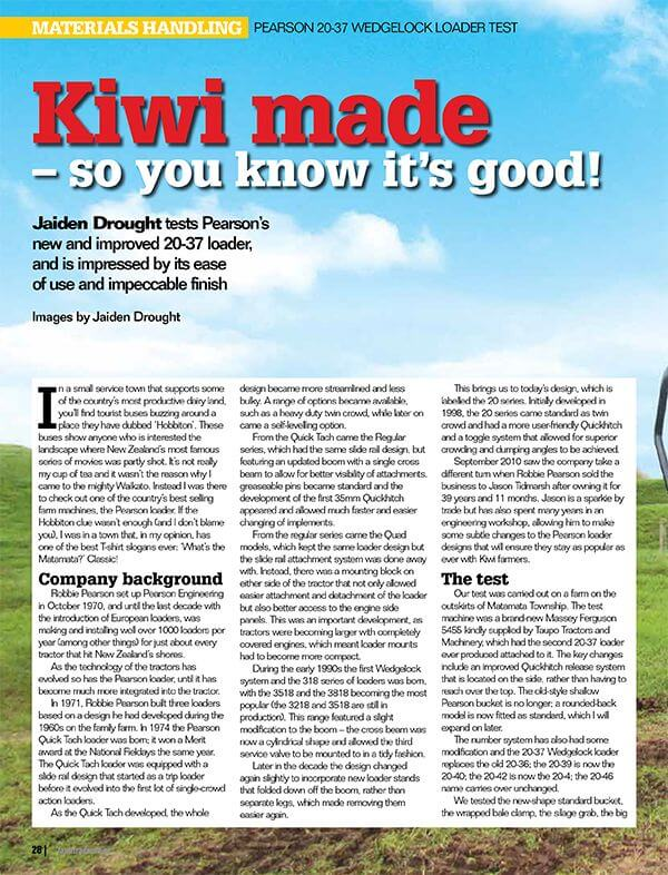 Farm Trader article
