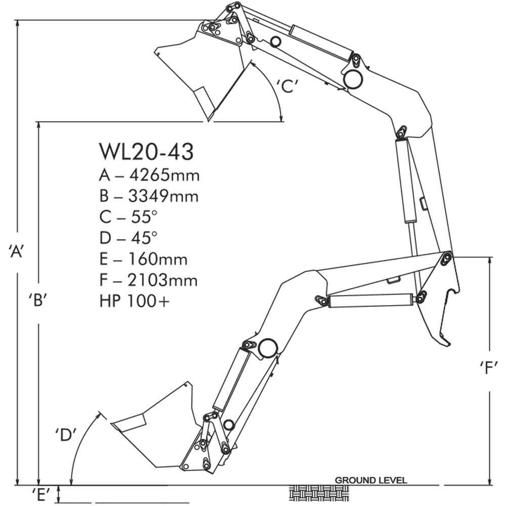 case backhoe hydraulic hose diagram